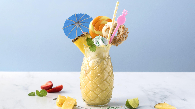 Freakshake med ananas