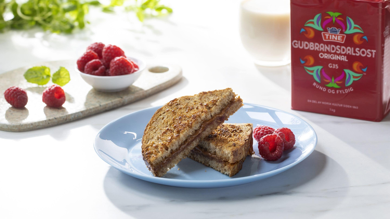 Brunost-toast