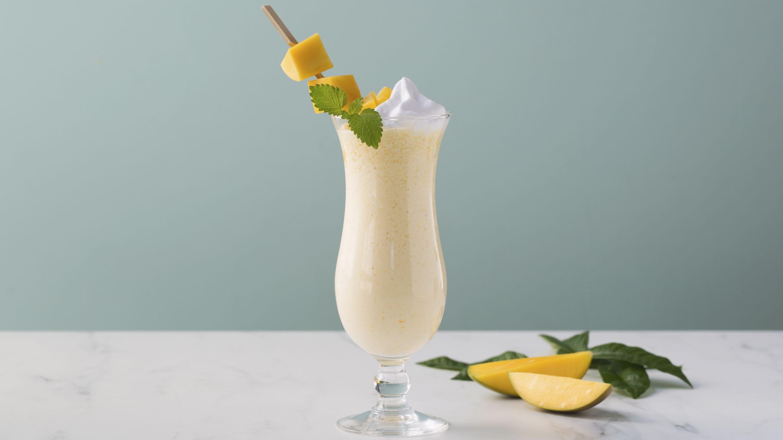 Milkshake med mango og ingefær