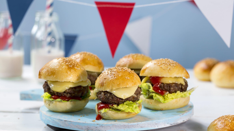 Miniburgere med Norvegia