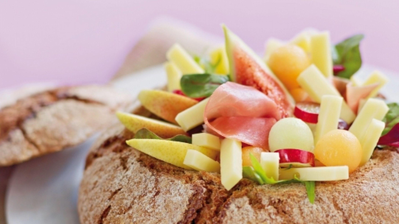 Brød med snadderfyll
