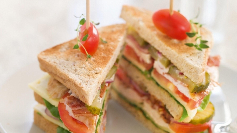 Club Sandwich med Norvegia