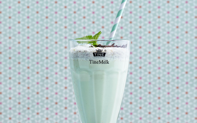 Pistasj milkshake