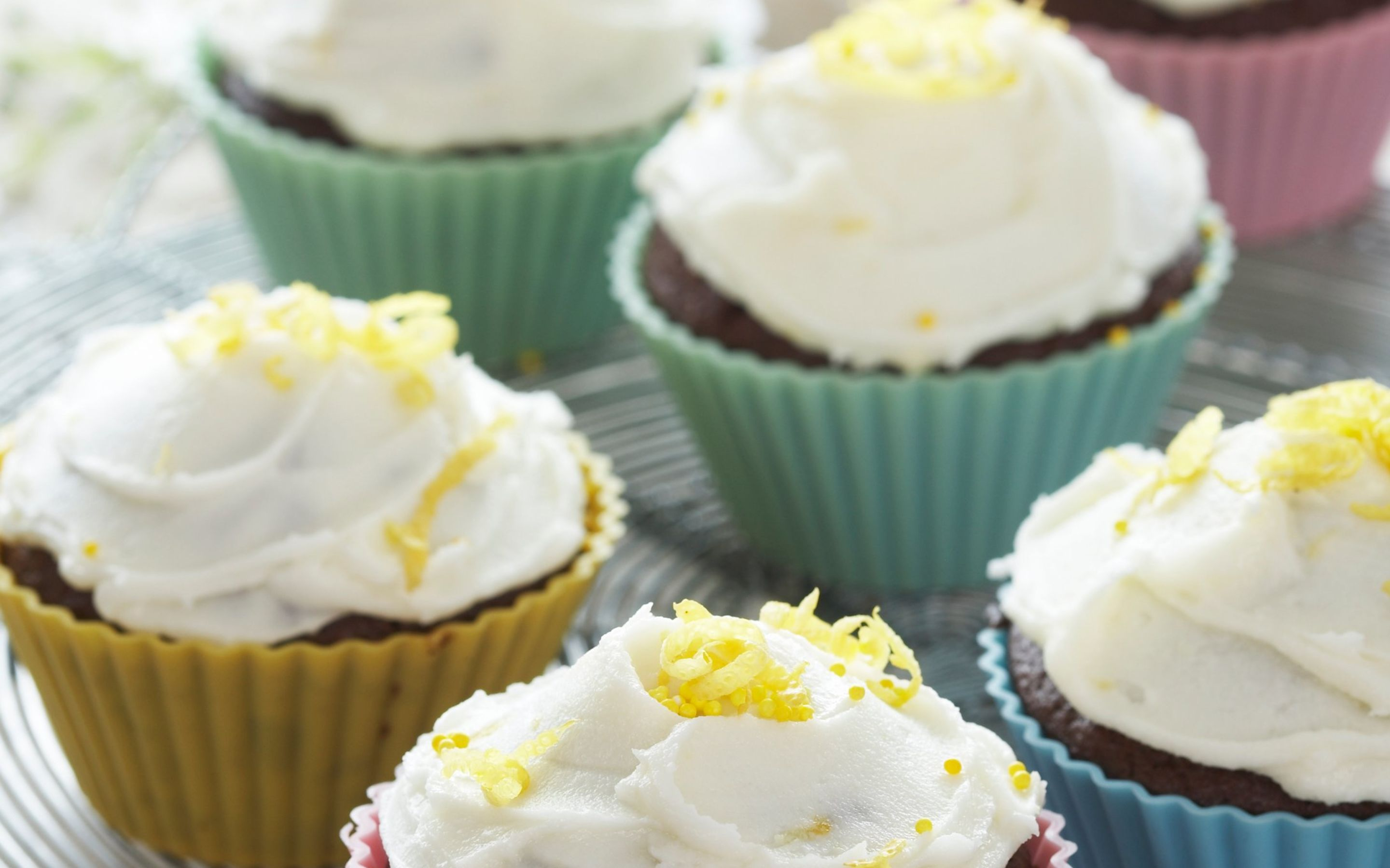 Cupcakes med sitrontopping