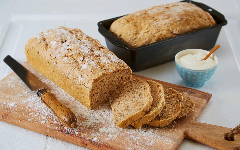 Grovt brød med Kesam