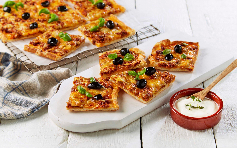 Pizza med kjøttdeig