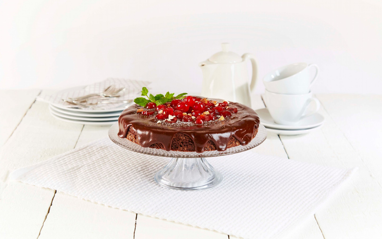 Lettvint sjokoladekake