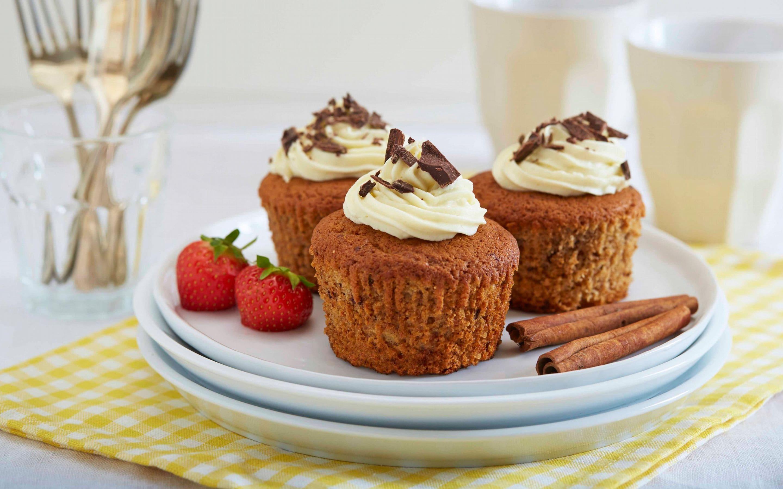 Bananmuffins med sjokoladebiter