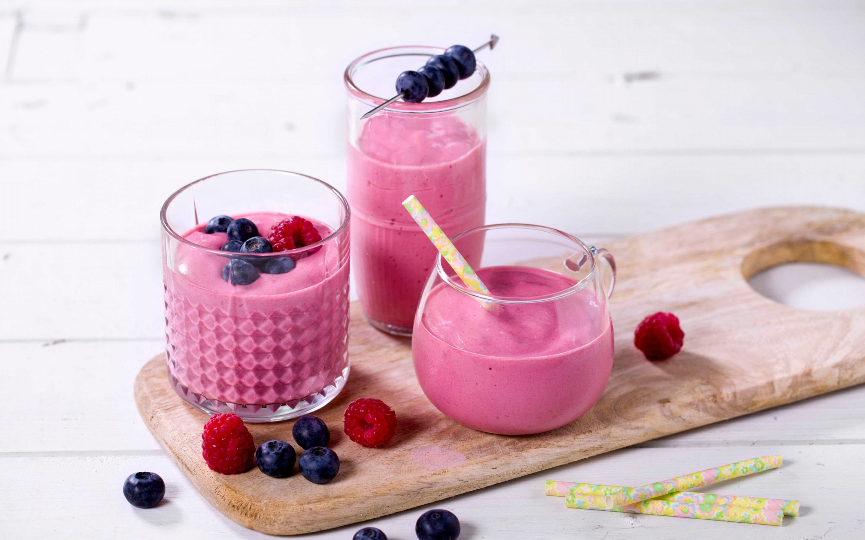 Smoothie med Cottage Cheese