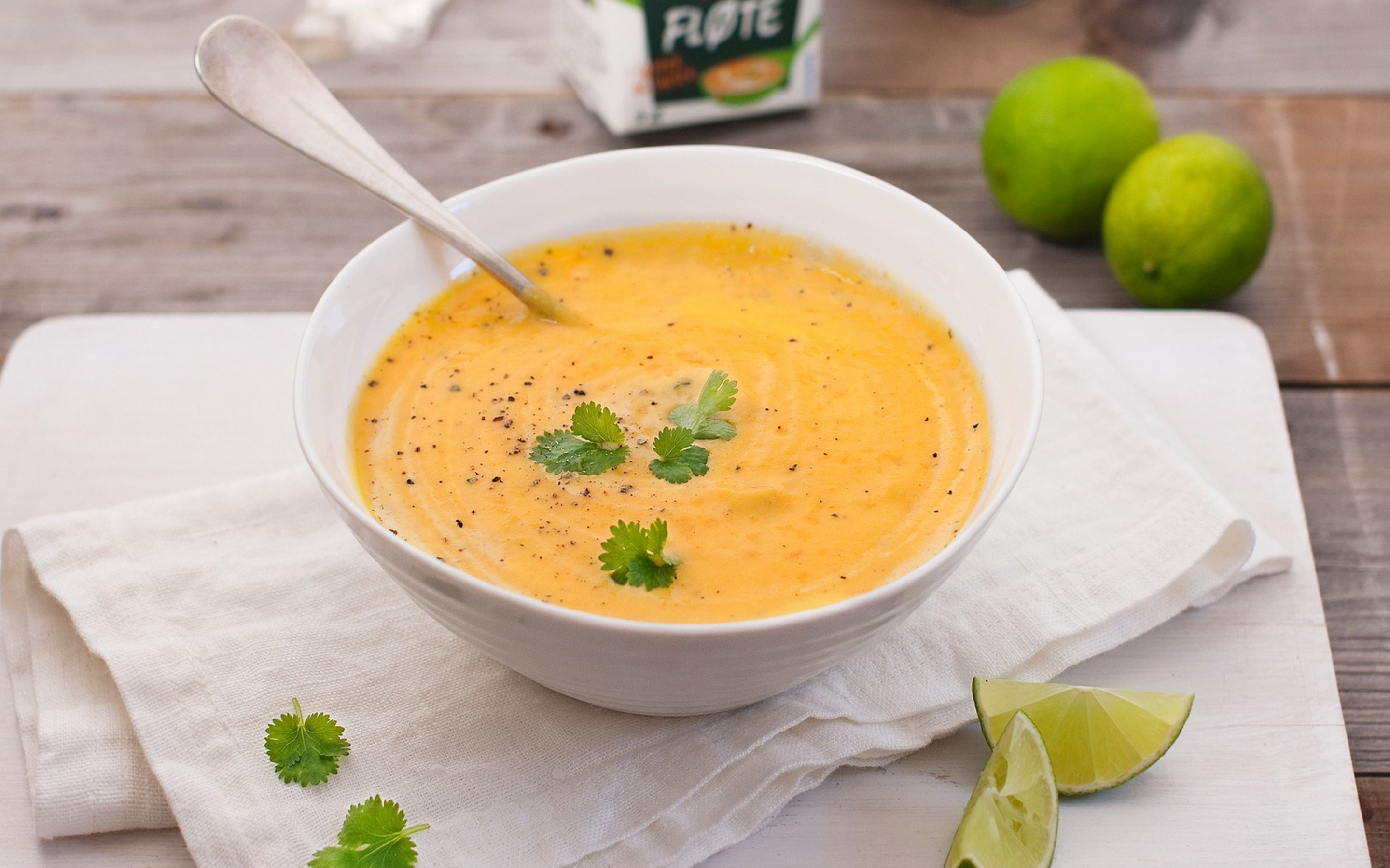 Gulrotsuppe med lime