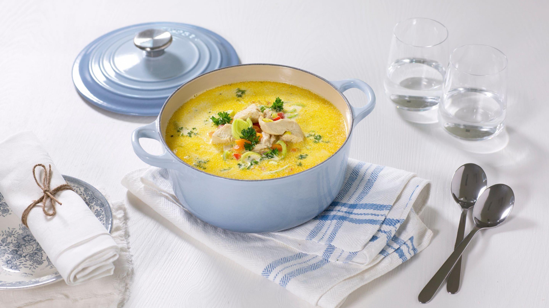kylling suppe oppskrift