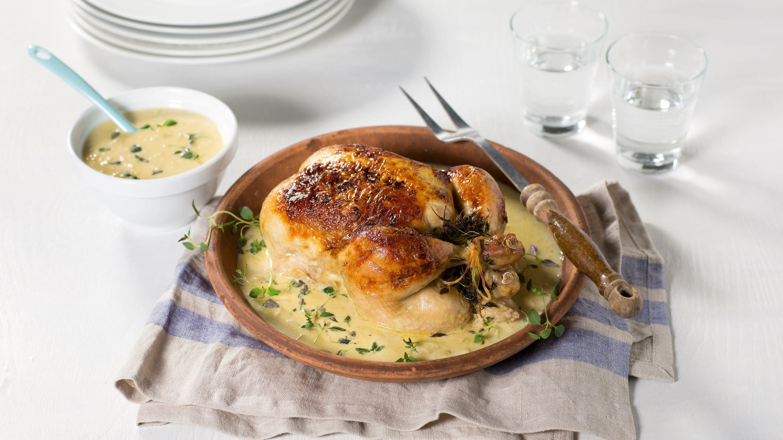 saus til kylling