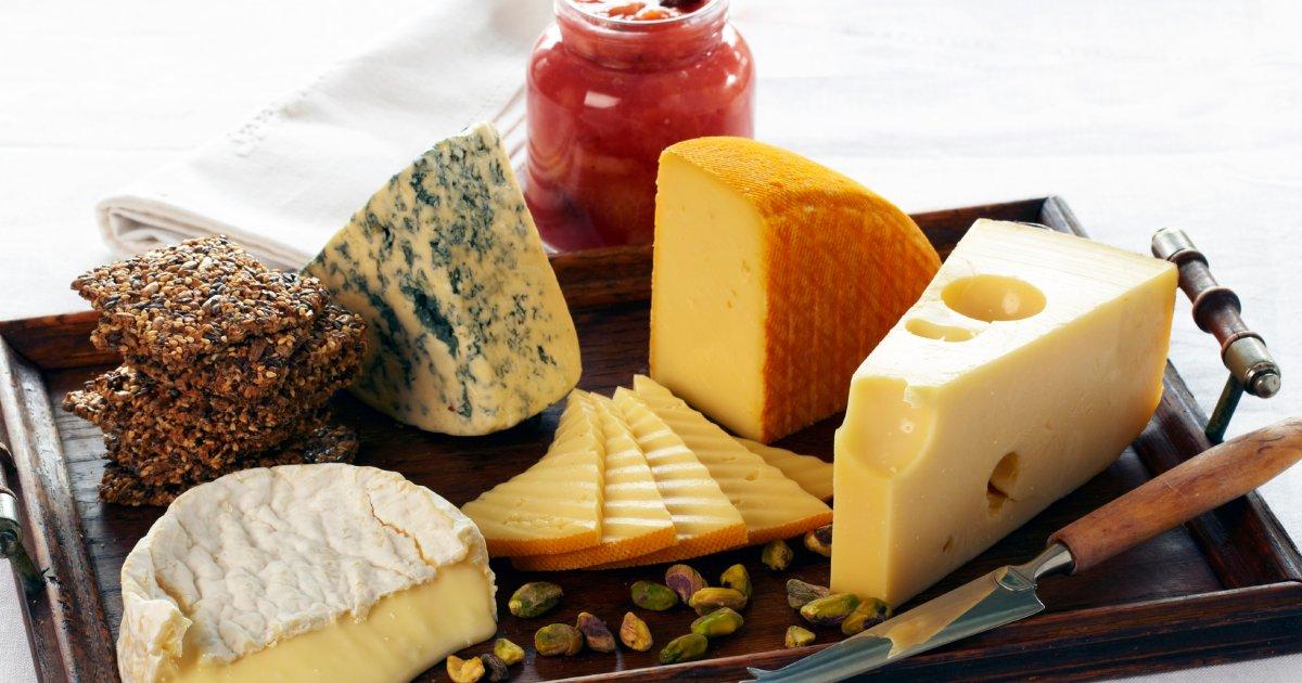 gravid äta ost