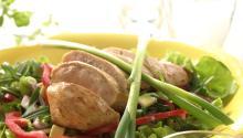 Oppskrift på Kyllingsalat med mangosalsa