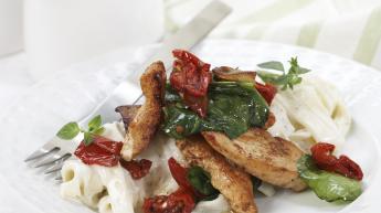 Italiensk kyllingpasta