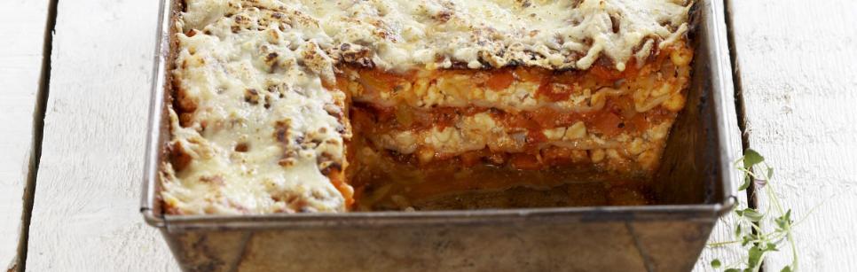 Oppskrift på lasagne med cottage Cheese