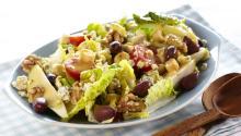 Oppskrift på Salat med blåmuggost