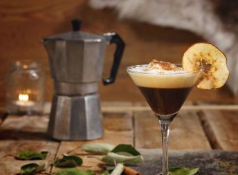 Mr. Melks Kaffe à la eplekake
