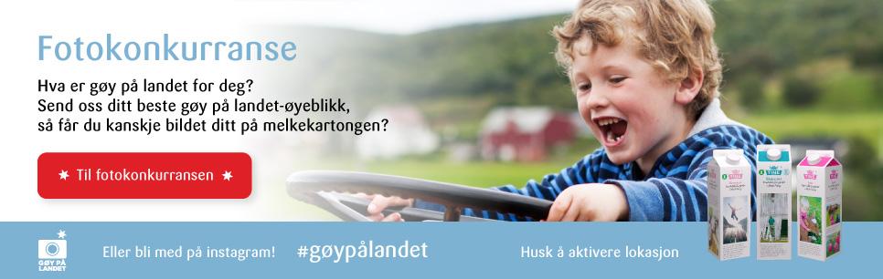TineMelk - fotokonkurranse #gøypålandet