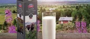 Stølsmelk fra Valdres med glass