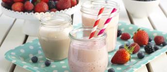 Oppskrifter på milkshake
