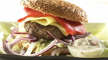 Hjemmelaget burger