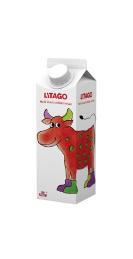 Litago melk med jordbærsmak