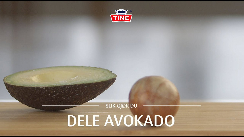 Hvordan dele avokado på en enkel måte