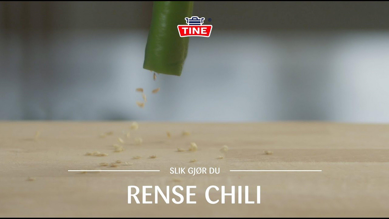 Hvordan rense en chili